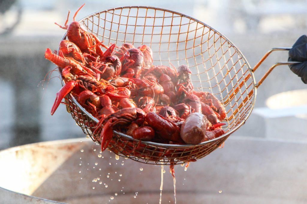 crawfish, seafood, food